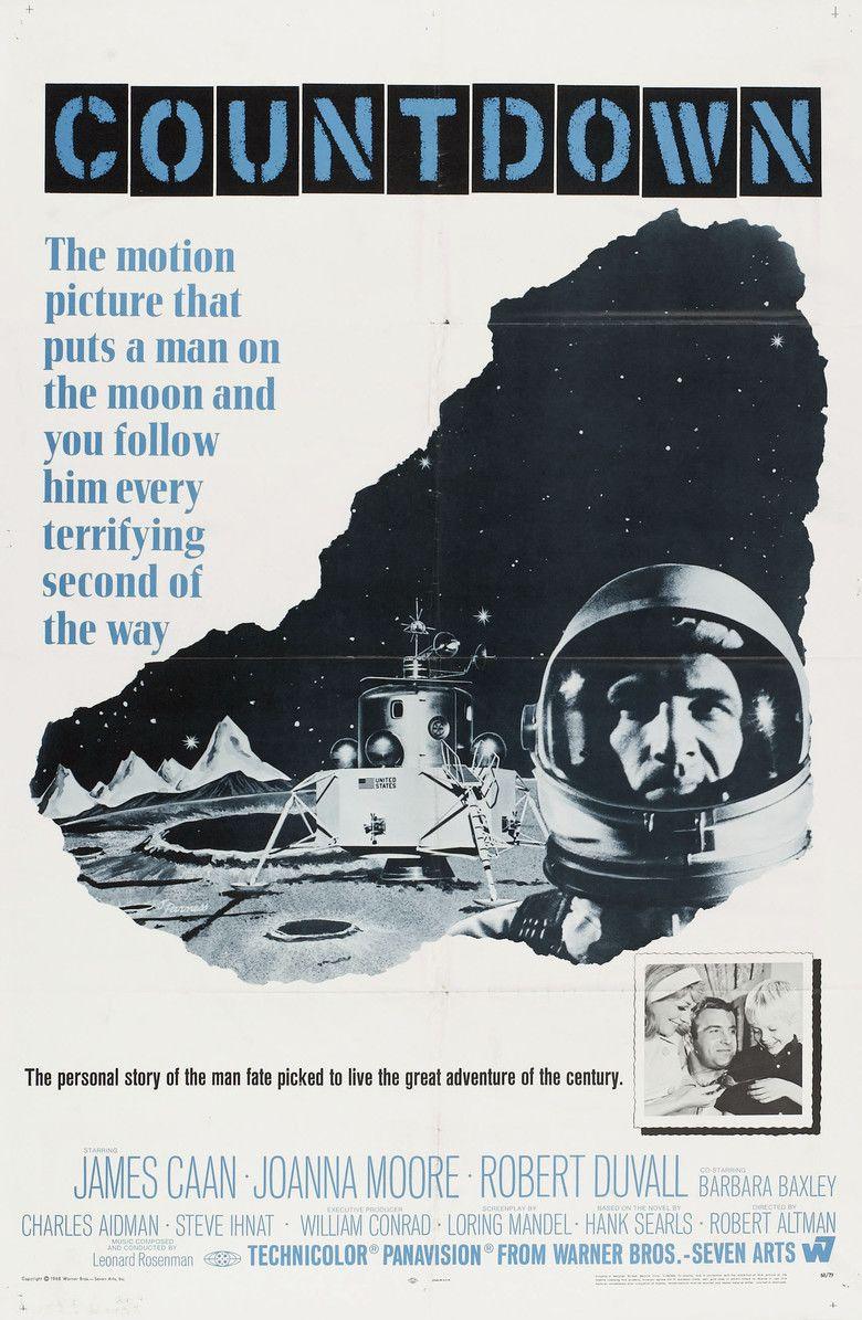 Countdown (1968 film) movie poster