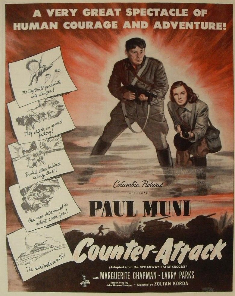 Counter Attack movie poster