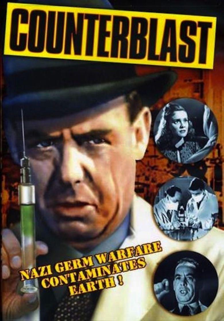 Counterblast (film) movie poster