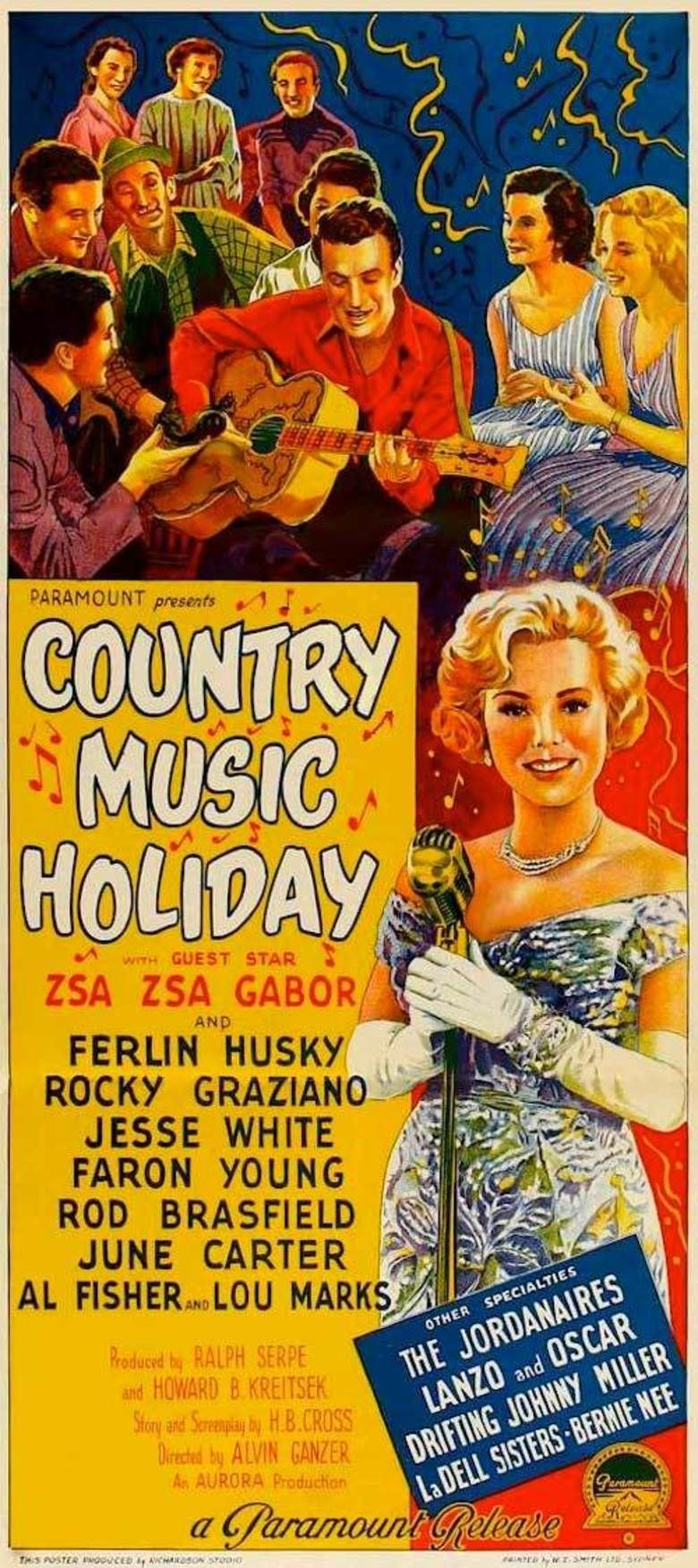 Country Music Holiday movie poster