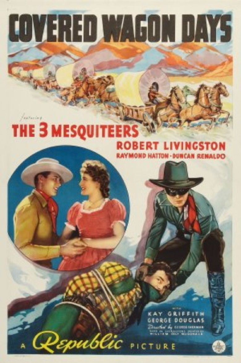 Covered Wagon Days movie poster