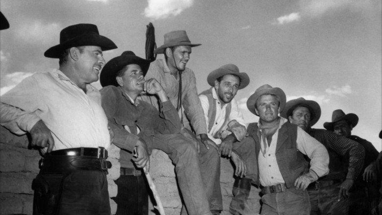 Cowboy (1958 film) movie scenes