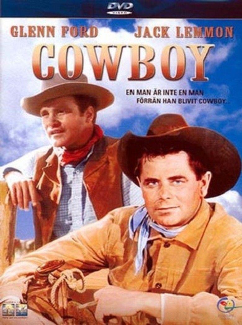 Cowboy (1958 film) movie poster