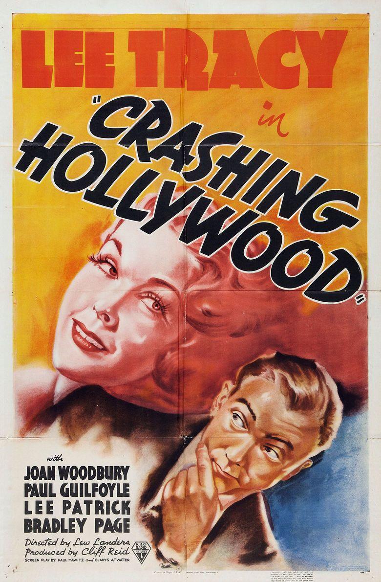 Crashing Hollywood (1938 film) movie poster
