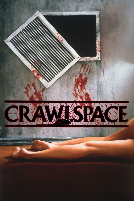Crawlspace (1986 film) movie poster