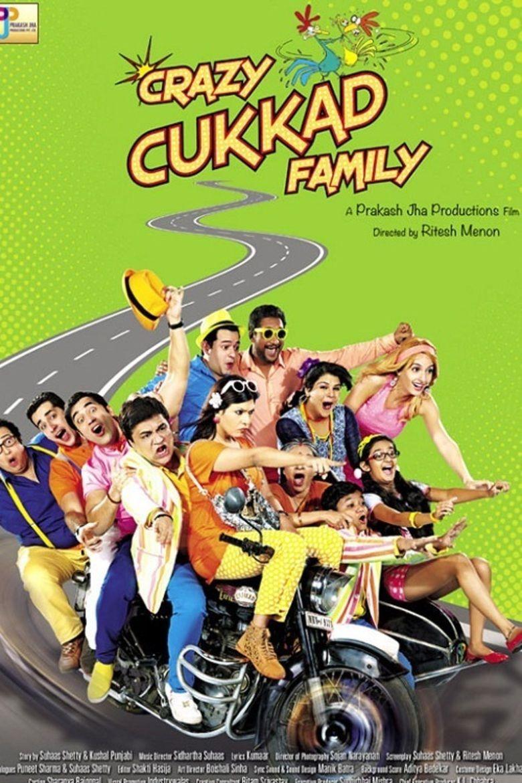 Crazy Cukkad Family movie poster