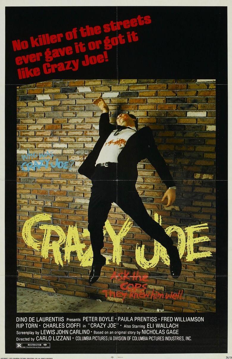 Crazy Joe (film) movie poster