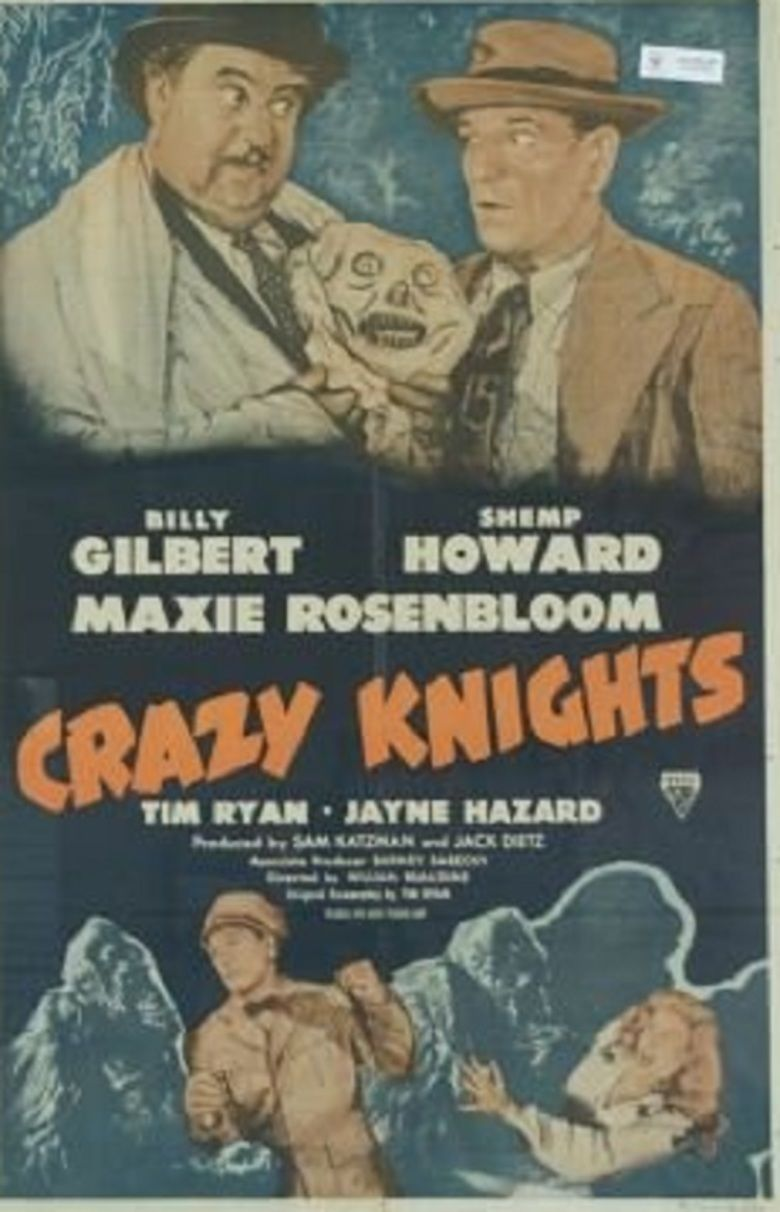 Crazy Knights movie poster