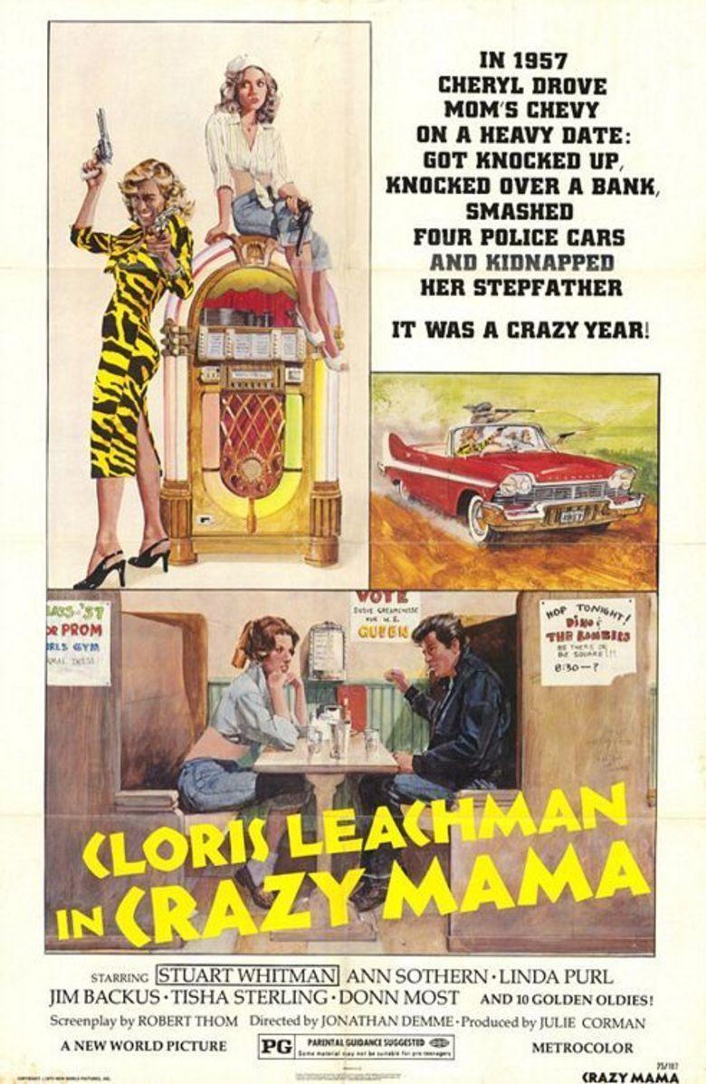 Crazy Mama movie poster