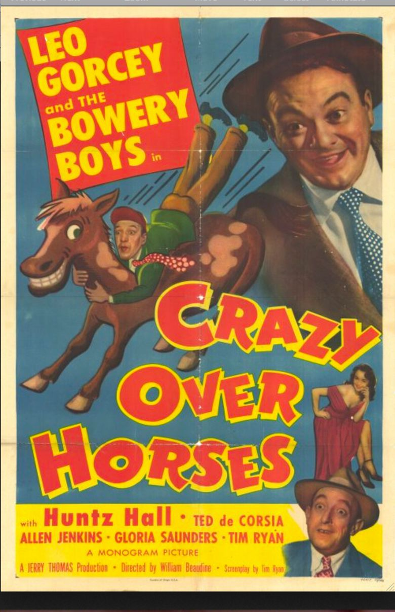 Crazy Over Horses movie poster