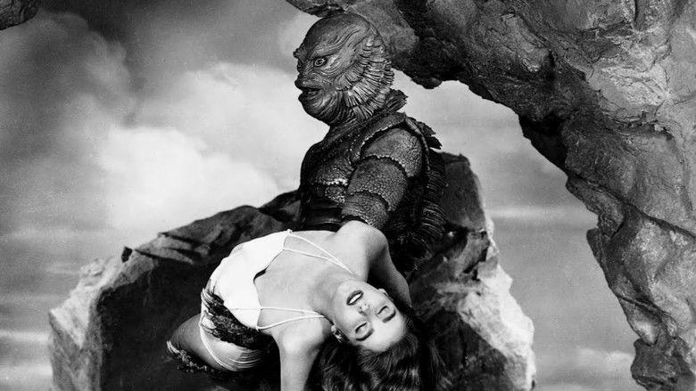 Creature from the Black Lagoon movie scenes