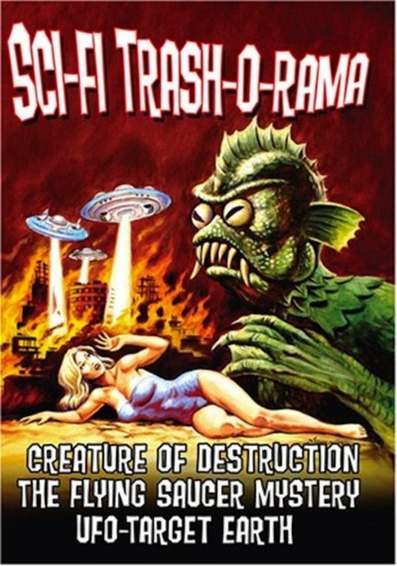 Creature of Destruction movie poster