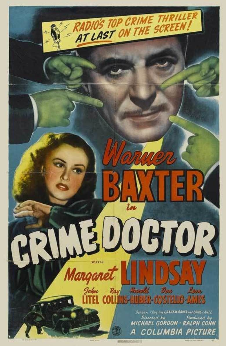 Crime Doctor (film) movie poster