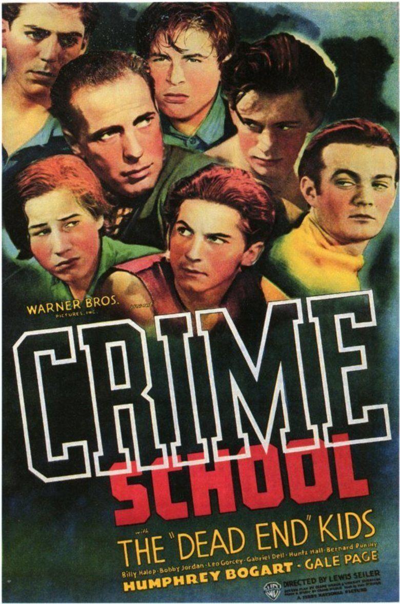 Crime School movie poster