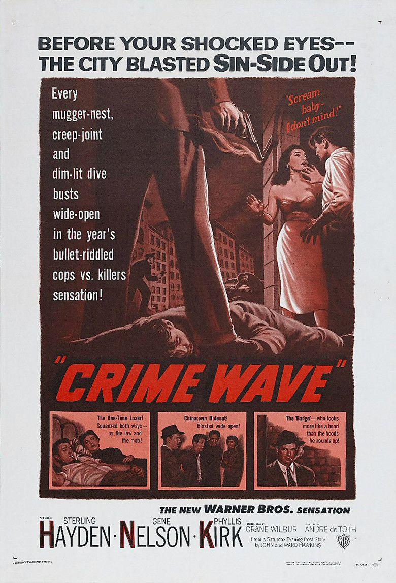 Crime Wave (1954 film) movie poster