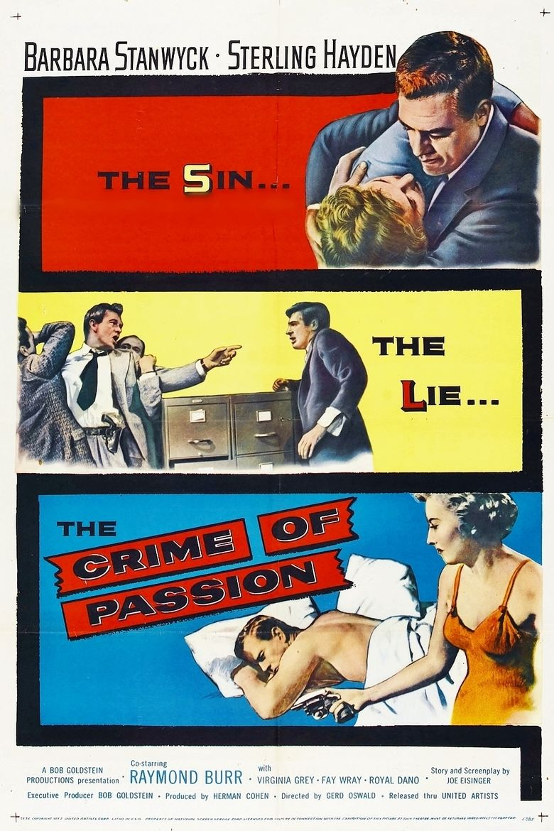Crime of Passion (1957 film) movie poster
