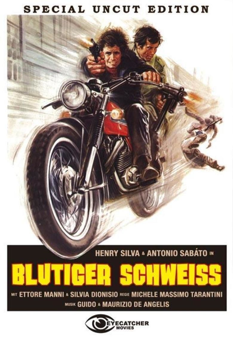 Crimebusters (film) movie poster