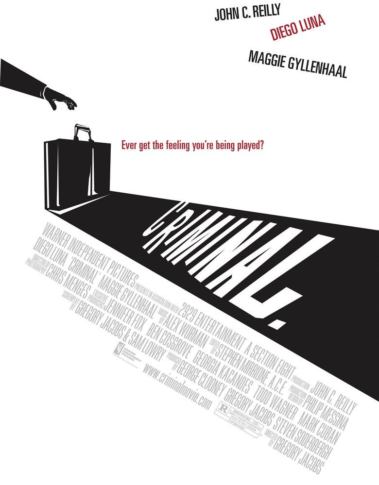Criminal (2004 film) movie poster