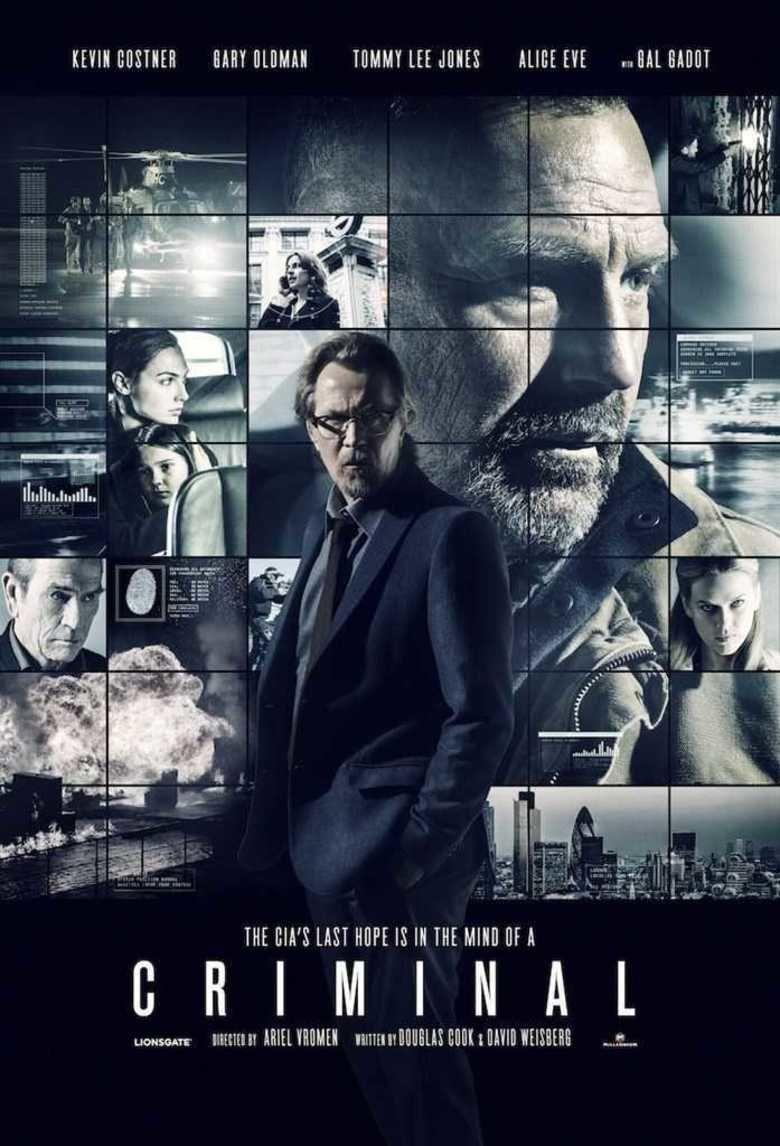 Criminal (2016 film) movie poster