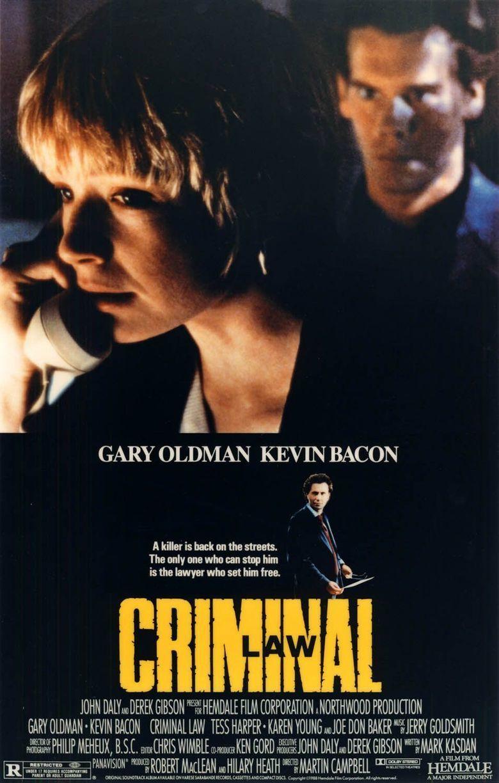 Criminal Law (film) movie poster