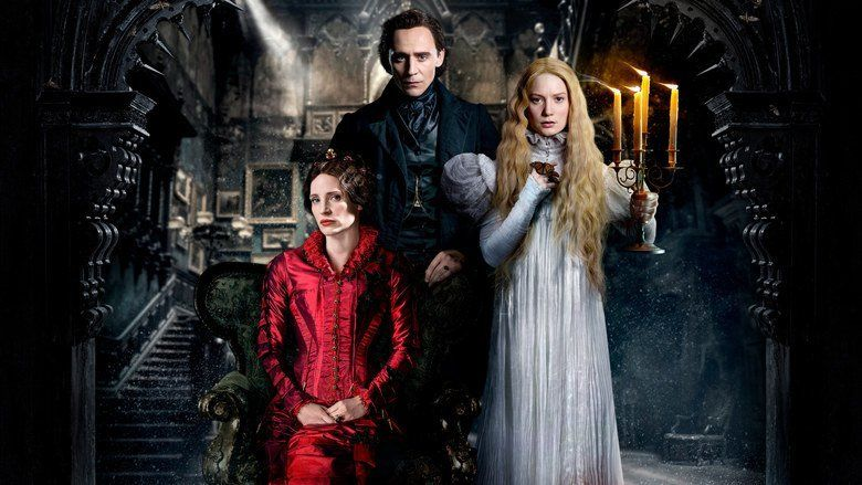 Crimson Peak movie scenes