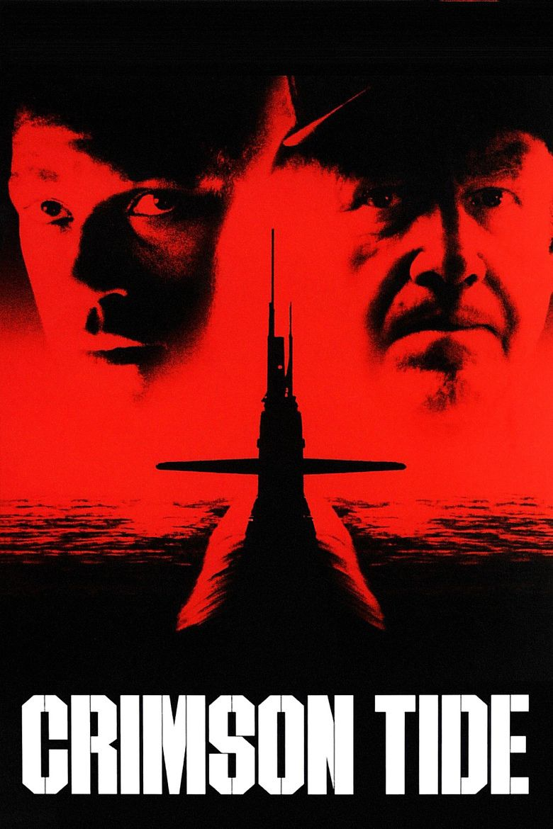 Image result for CRIMSON TIDE ( 1995 ) POSTER