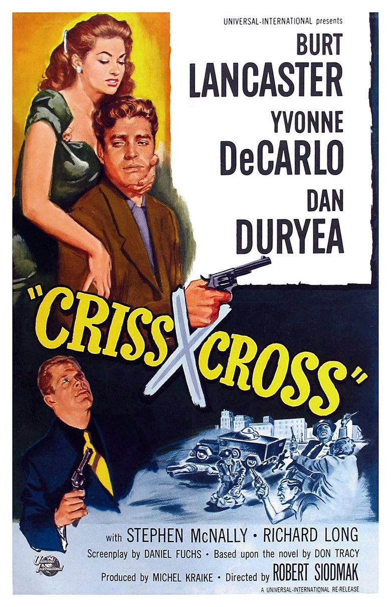 Criss Cross (film) movie poster
