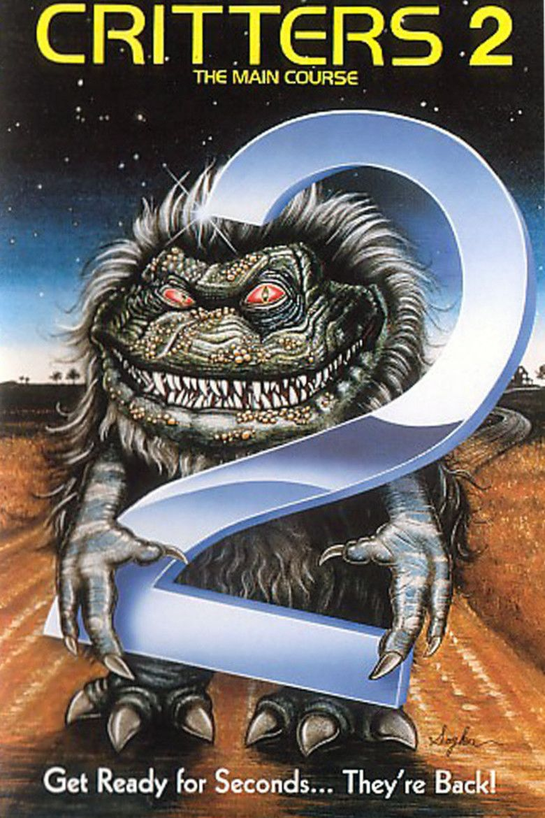 Critters 2: The Main Course movie poster