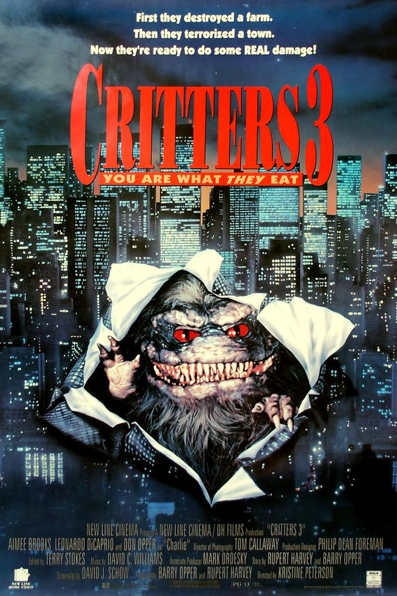 Critters 3 movie poster