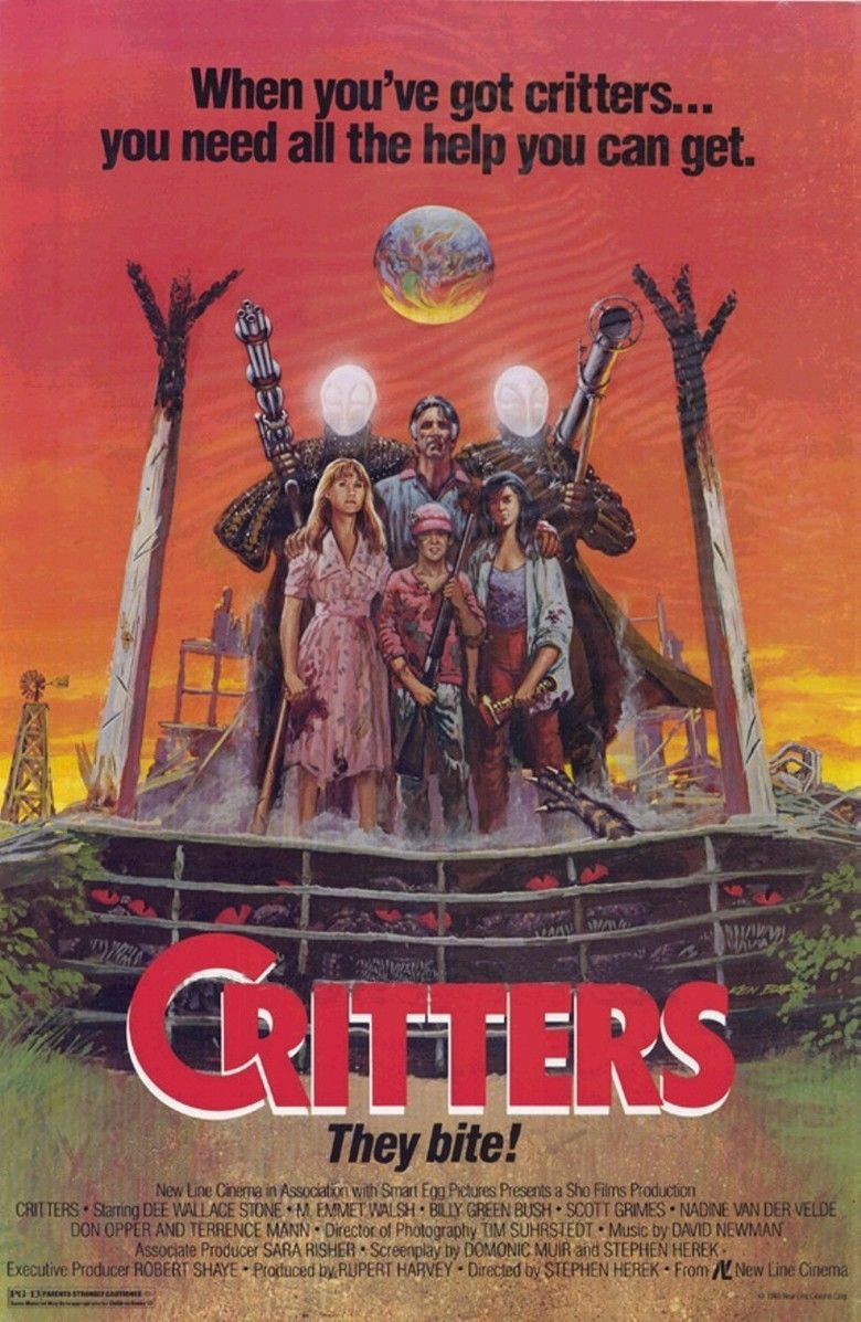 Critters (film) movie poster