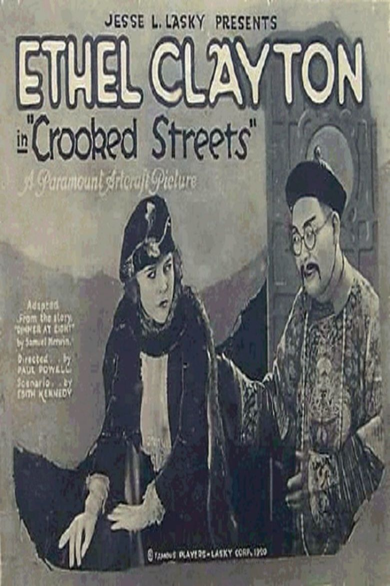 Crooked Streets movie poster