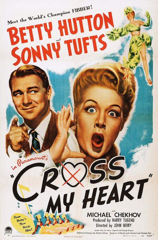 Cross My Heart (1946 film) movie poster