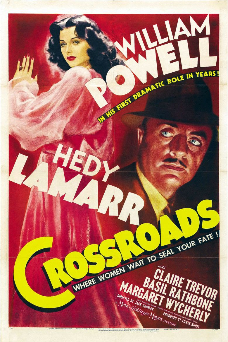 Crossroads (1942 film) movie poster