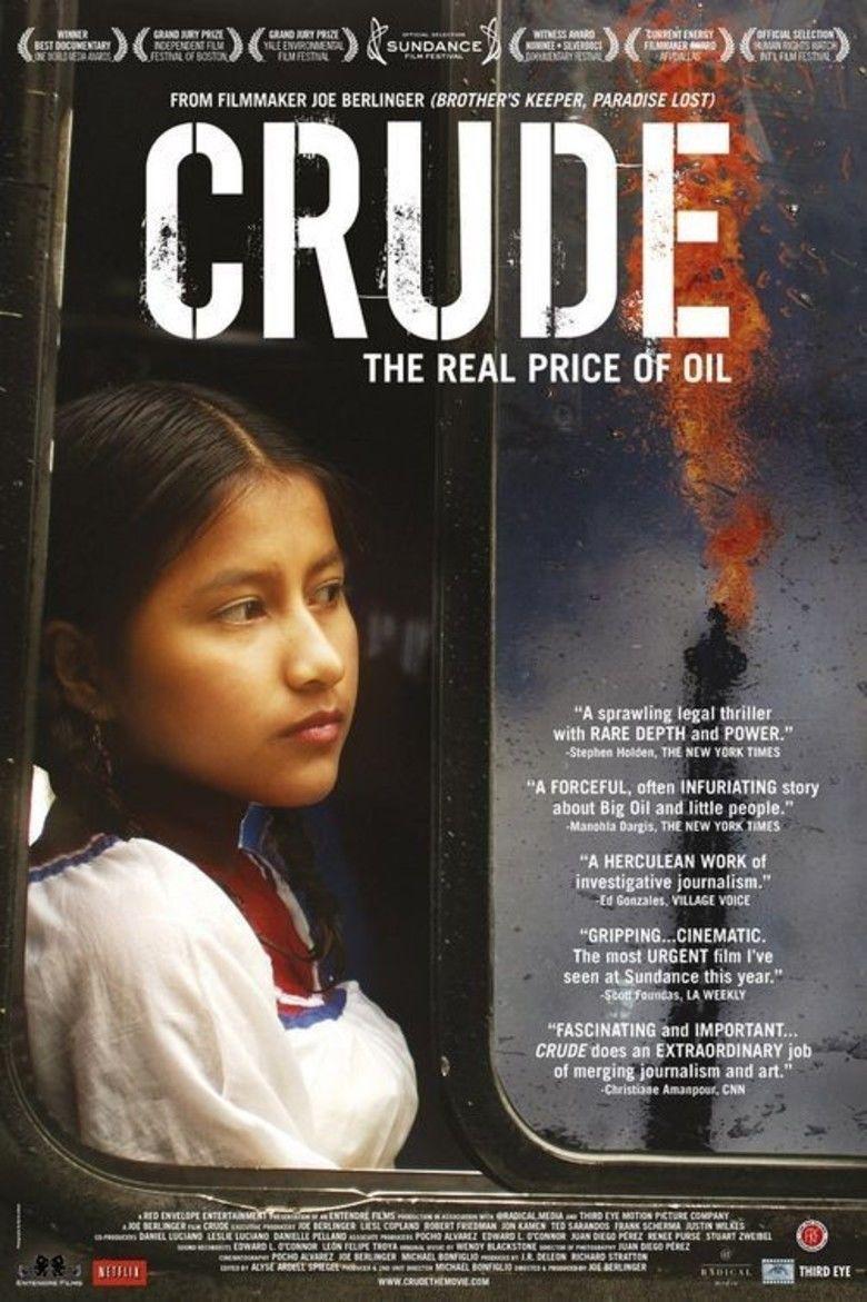 Crude (2009 film) movie poster