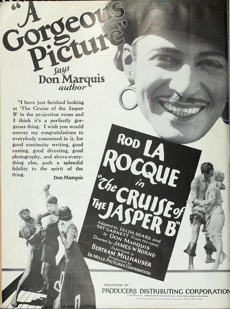 Cruise of the Jasper B movie poster