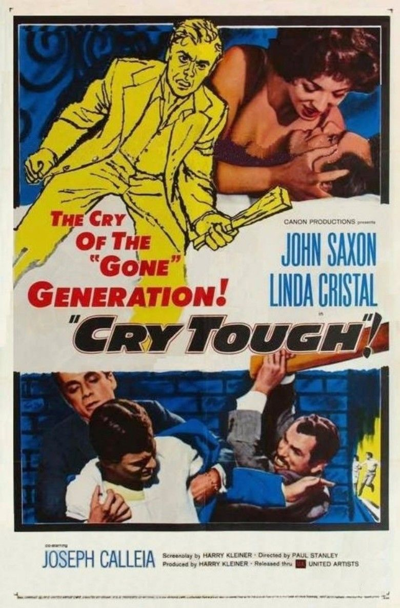 Cry Tough (film) movie poster