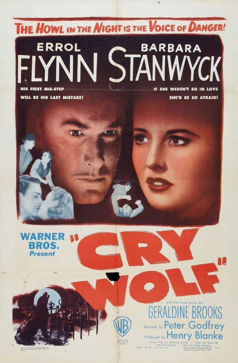 Cry Wolf (1947 film) movie poster