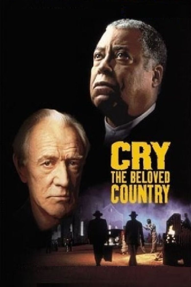 Cry, the Beloved Country (1995 film) movie poster
