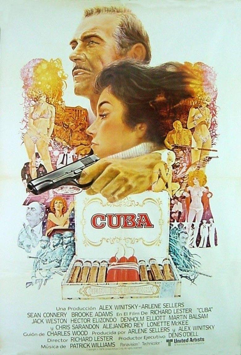 Cuba (film) movie poster