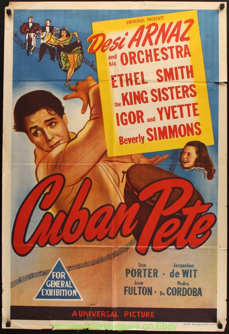 Cuban Pete (film) movie poster