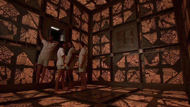 Cube (film) movie scenes