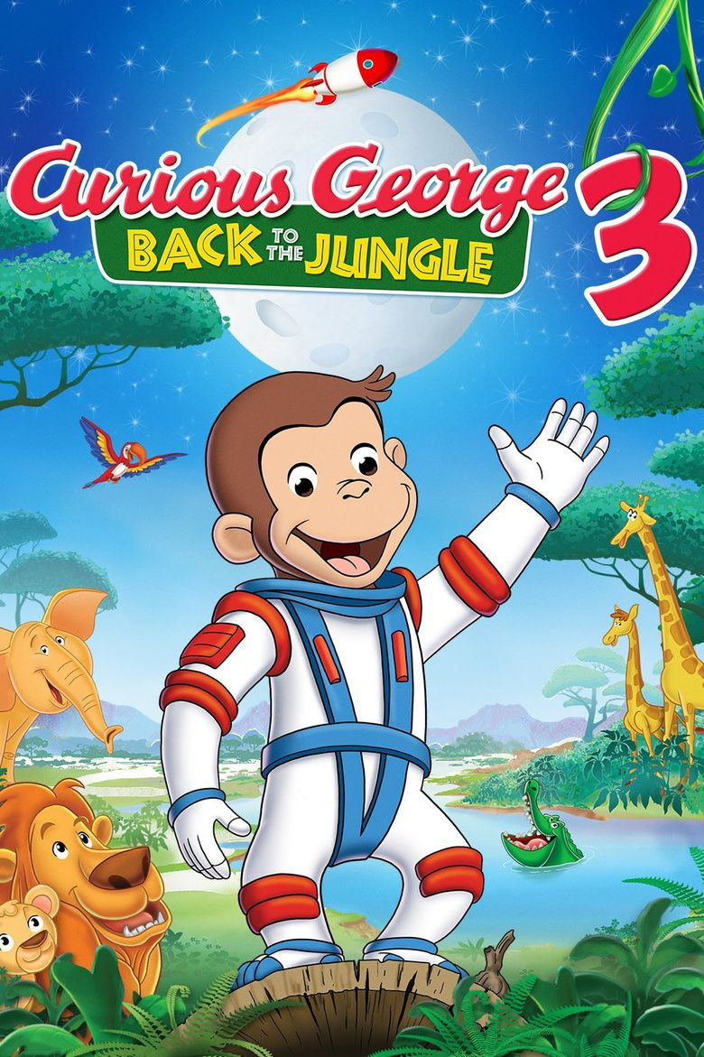 Curious George 3: Back to the Jungle movie poster