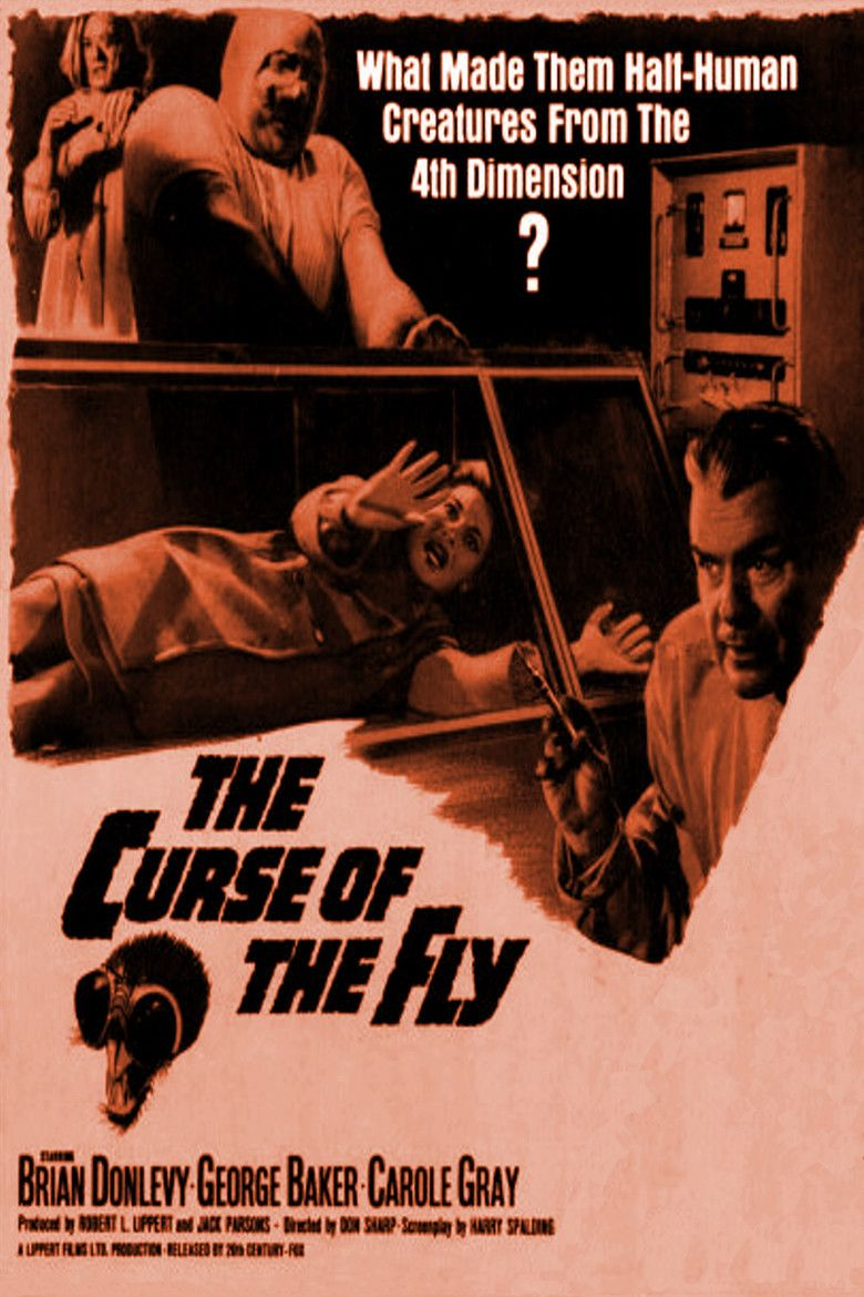 Curse of the Fly movie poster