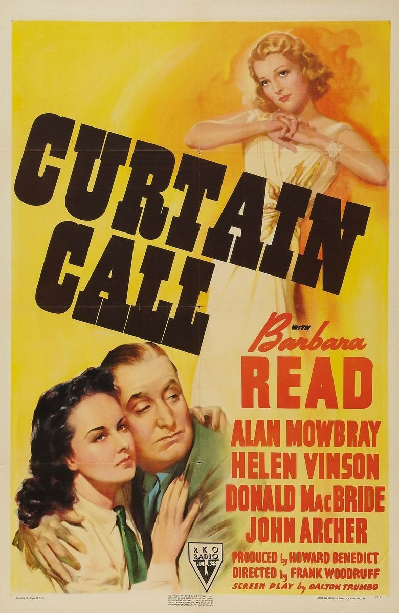 Curtain Call (1940 film) movie poster
