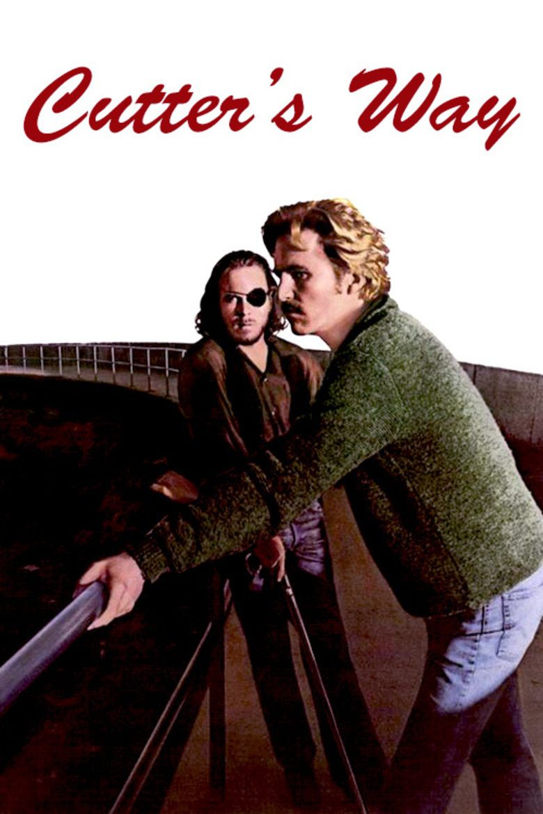 Cutters Way movie poster