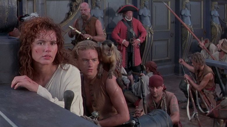 Cutthroat Island movie scenes
