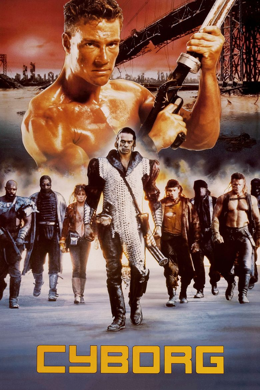 Cyborg (film) movie poster