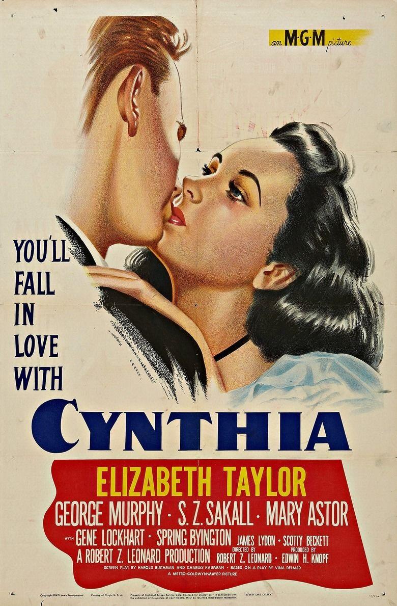 Cynthia (film) movie poster