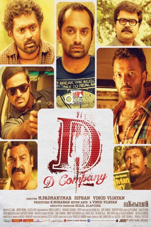 D Company (film) movie poster