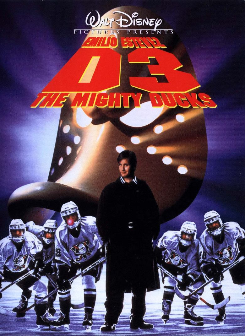 D3: The Mighty Ducks movie poster